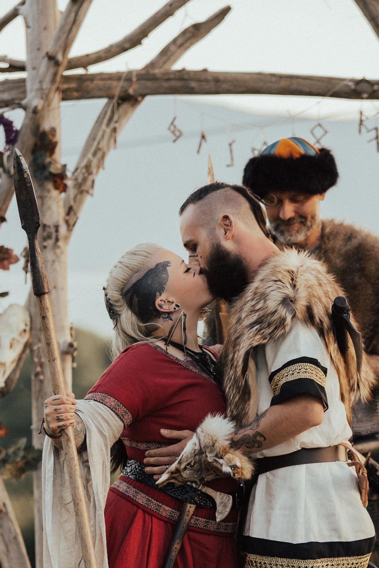 Wikinger Hochzeit