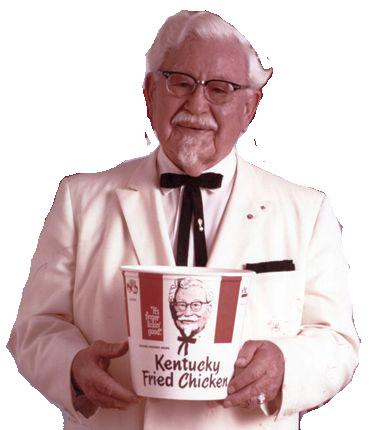 Kentucky Fried Chicken S Secret Recipe Kentucky Fried Colonel Sanders Fried Chicken
