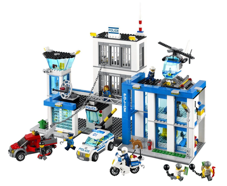 The Lego City Police Station Set For Boys Lego Police Station Lego City Police Lego City Police Station