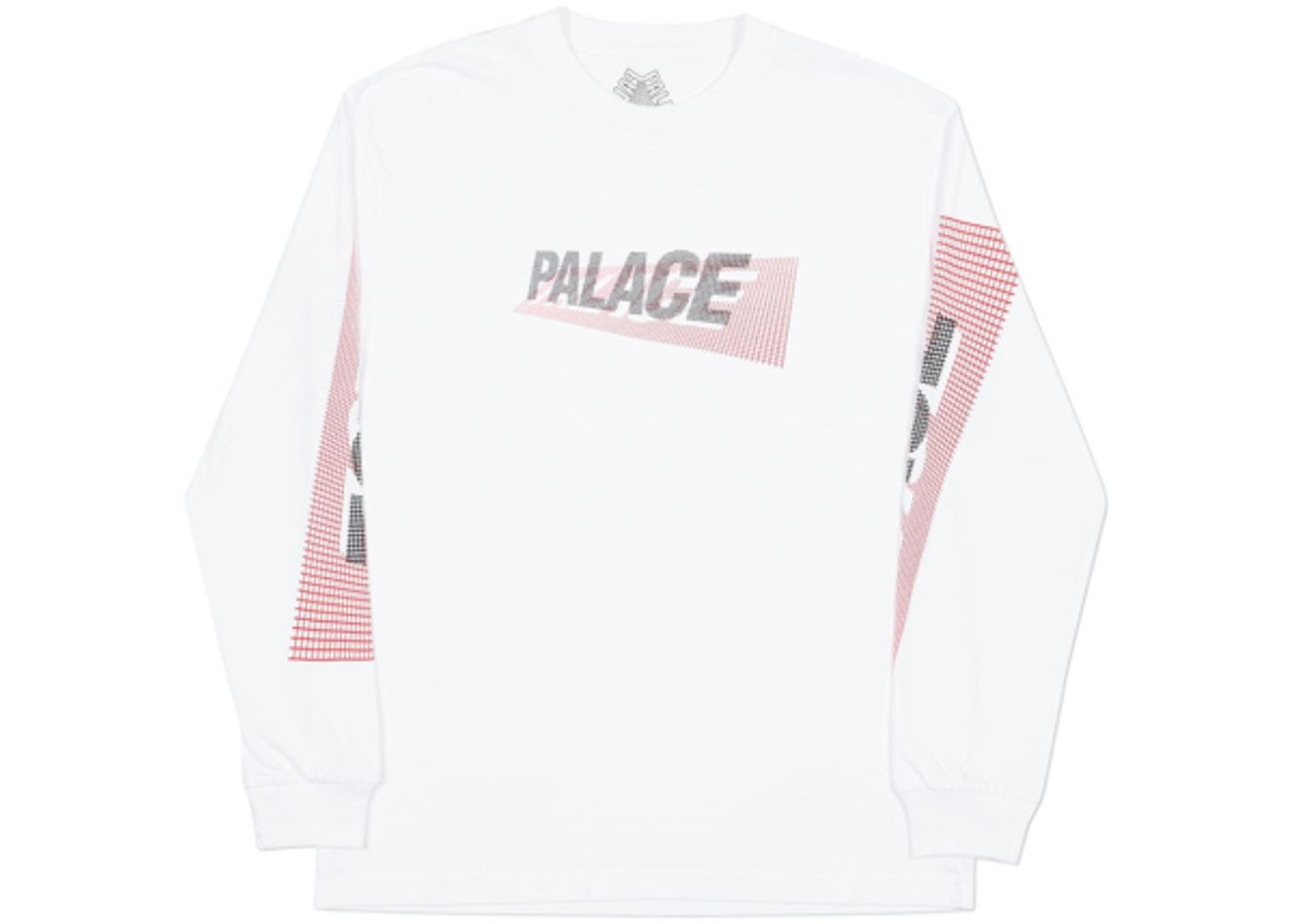 f2a8ab6a Buy and sell authentic Palace streetwear on StockX including the Palace 3-P  Longsleeve White from FW18.