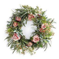 The Rose Garden Wreaths For Front Door Rose Wreath