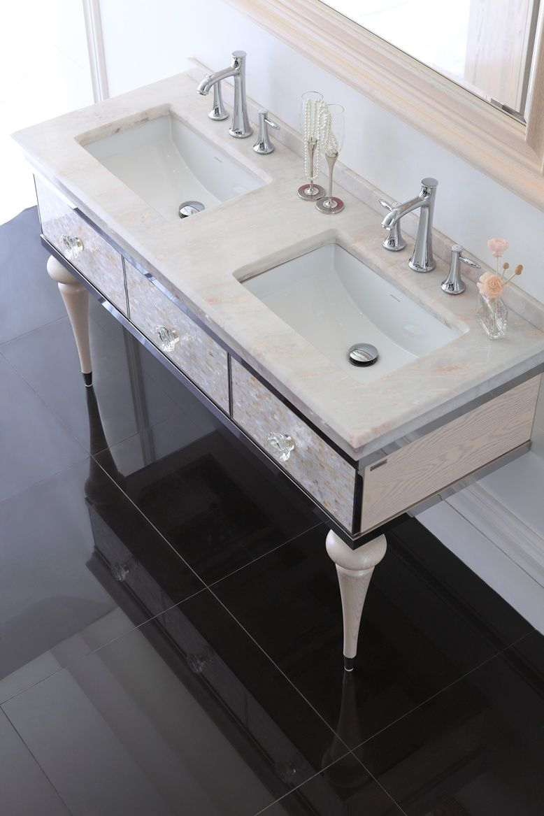 56 bathroom vanity for artistic design in luxury home on replacement countertops for bathroom vanity id=18375