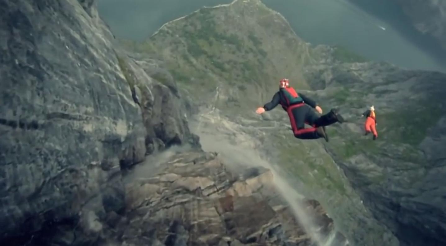Wingsuit El Mejor Video De Hombre Pajaro Pajaros Chilenos Mejor Gif Y Hombres