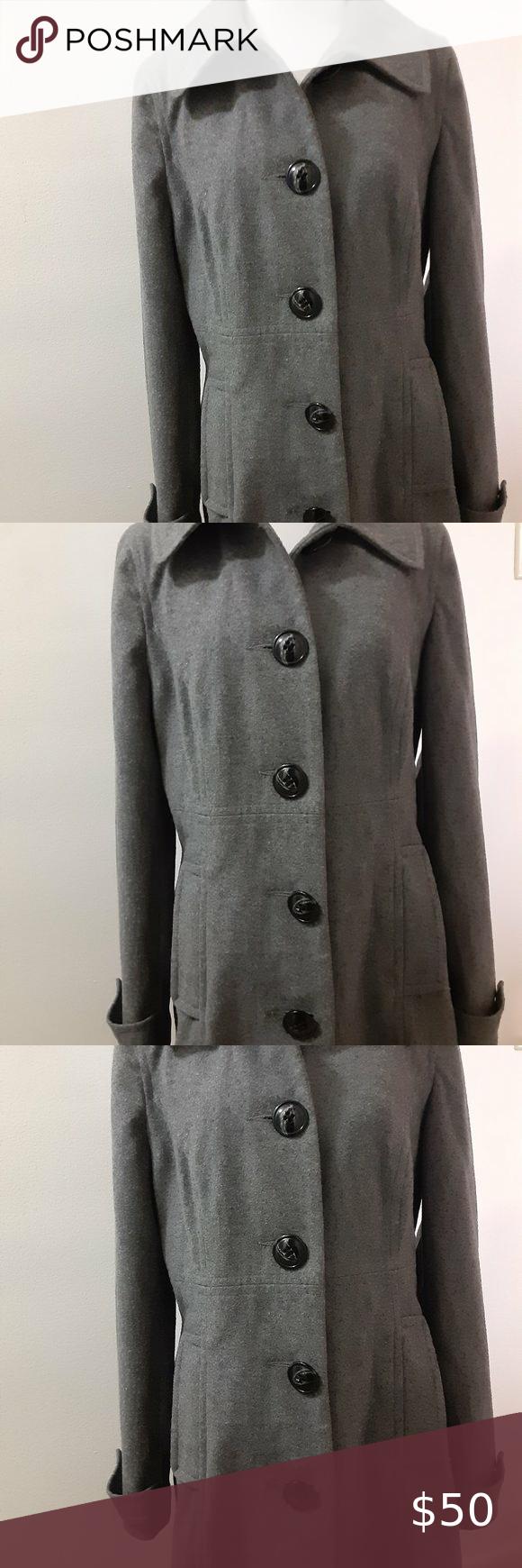 Merona Wool Blend Coat Jacket Rn 17730 Women S M Very Nice Merona Gray Wool Blend Coat Jacket Rn 17730 Women S Size M Th Wool Blend Coat Clothes Design Women [ 1740 x 580 Pixel ]