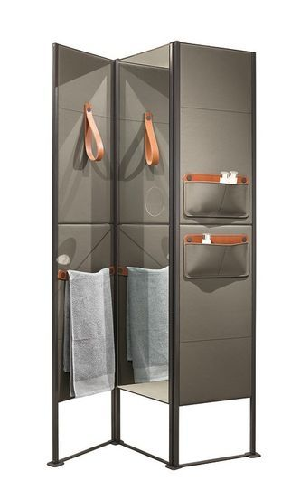 Shade Leather Screen By Makro Design Marco Taietta Furniture