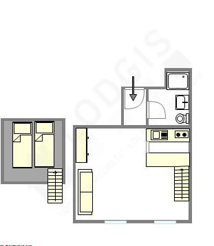 Appartement Paris 3 Plan Interactif Appartement Paris Location Studio Paris Appartement