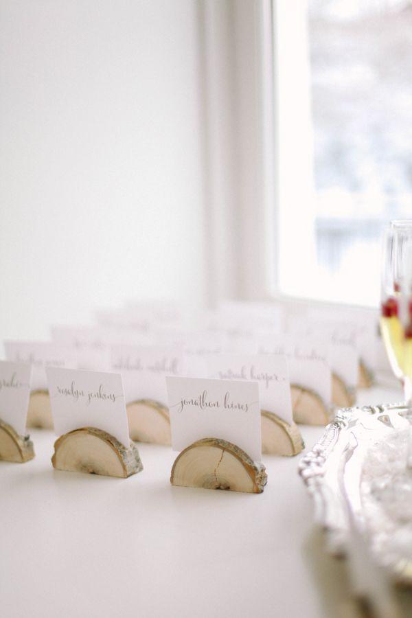 Elegant + Rustic Winter Wedding Inspiration