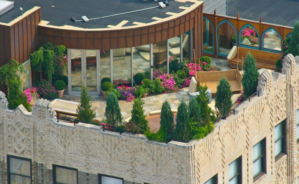 Nueva York Viviendas Con Terraza En Las Azoteas De Algunos