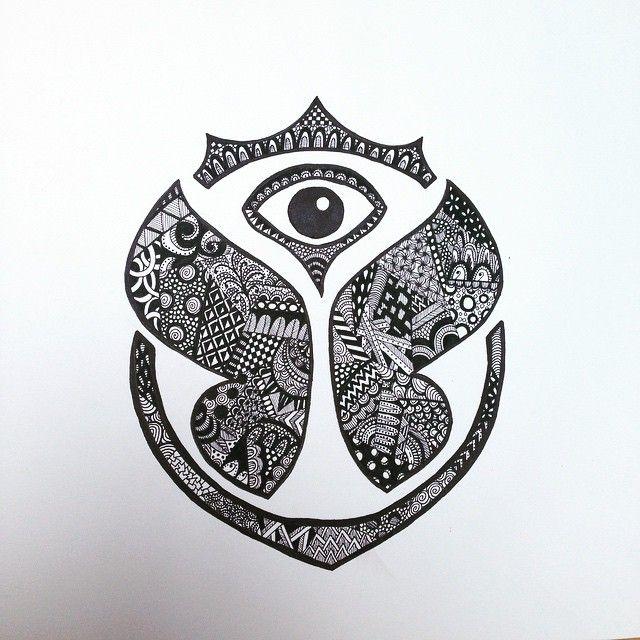 imagen de logo de tomorrowland   tattoos   Pinterest   Music ...