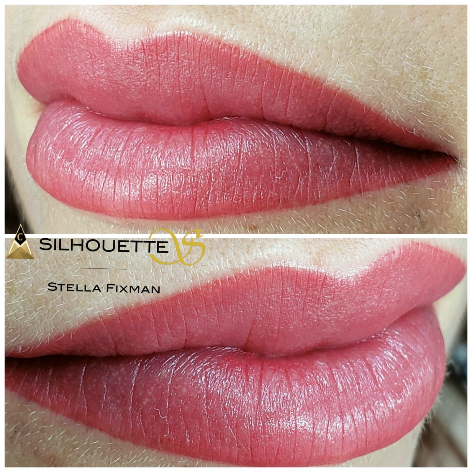 Beautiful And Natural Lips Blush Achieved With Aquarelle