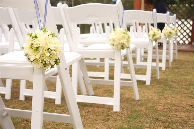 White Resin Folding Chairs Wedding Google Search