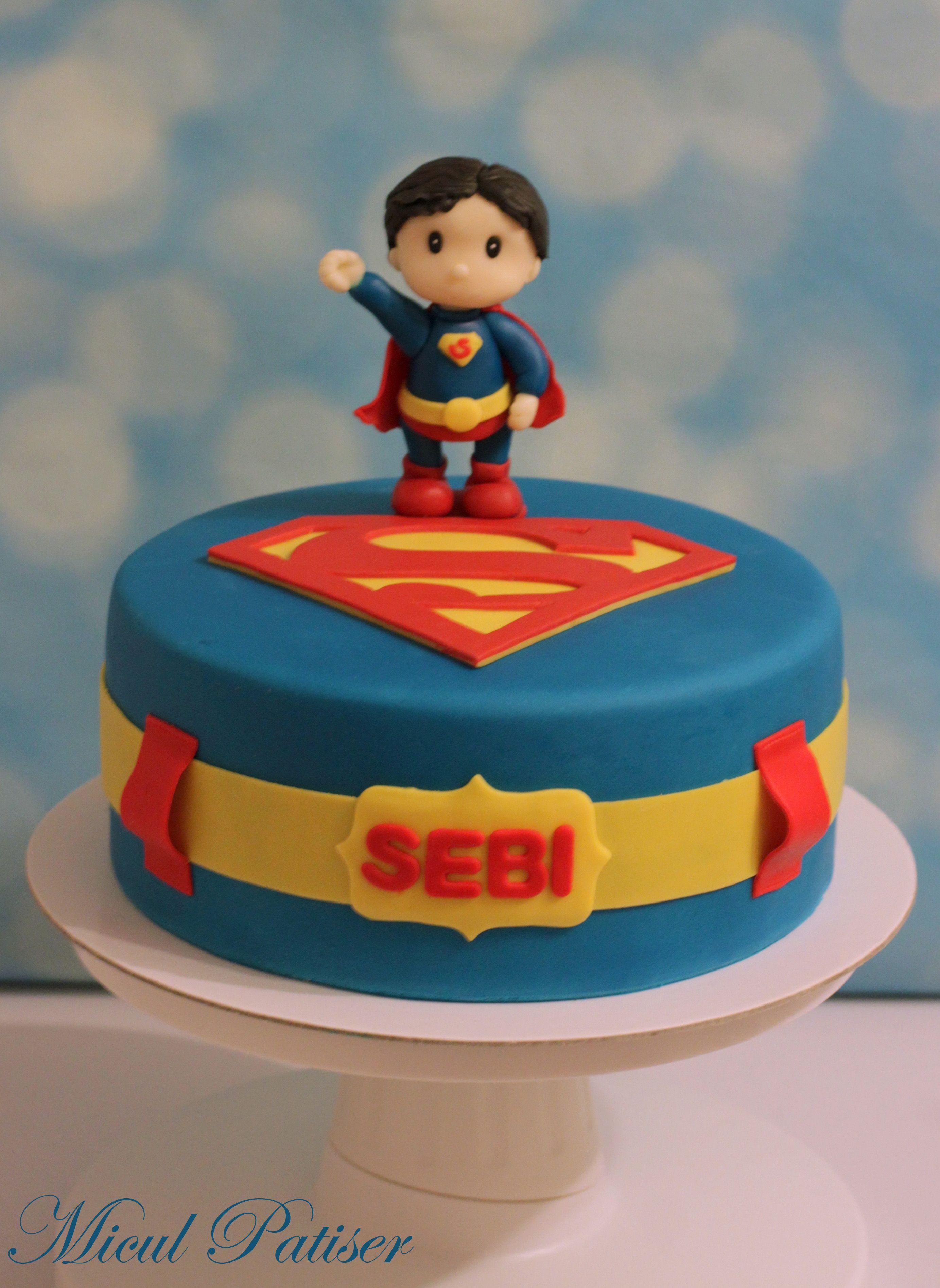 Little Superman Cake