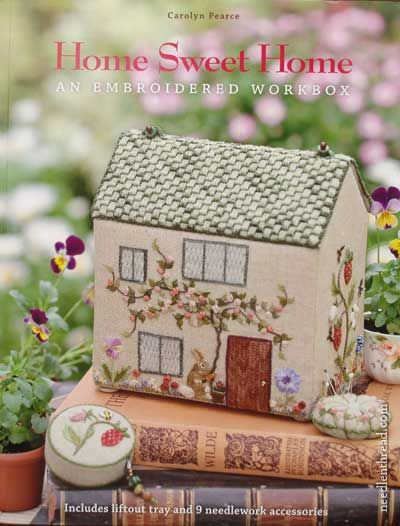 Home Sweet Home an embroidered workbox for sewing - great design idea for SMC