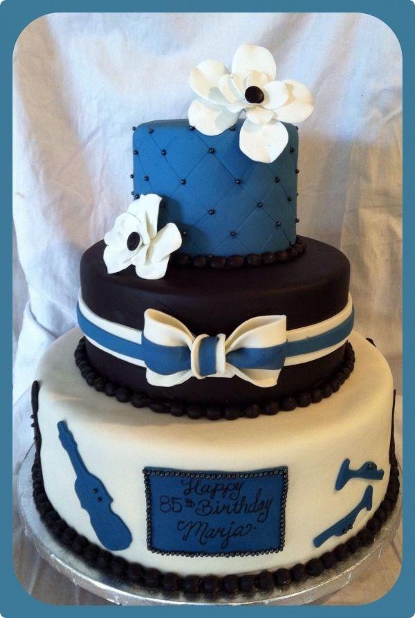 Brilliant 85Th Birthday Big Band Cake Cake 85Th Birthday Cake Designs Funny Birthday Cards Online Alyptdamsfinfo