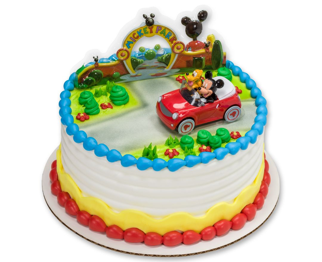 Mickey Mouse Cake Walmart Can Make This A 2 Tier 58
