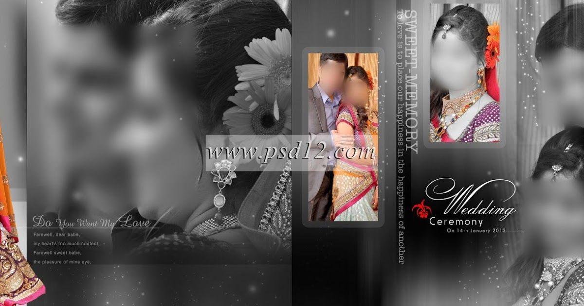 Portrait Wedding Photo Album Psd Templates And Designs For Karizma Photo Album And Photoboo Wedding Album Cover Design Wedding Album Cover Wedding Album Design