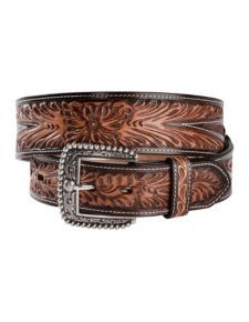 Ariat Crenshaw Tooled Leather Belt