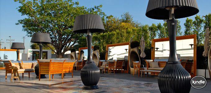 Kindle Living™   Estufas de exterior con forma de lámpara