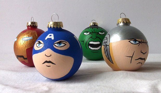 Christmas ornament · Avengers ornaments - Avengers Ornaments Geek Holiday Party Pinterest Marvel