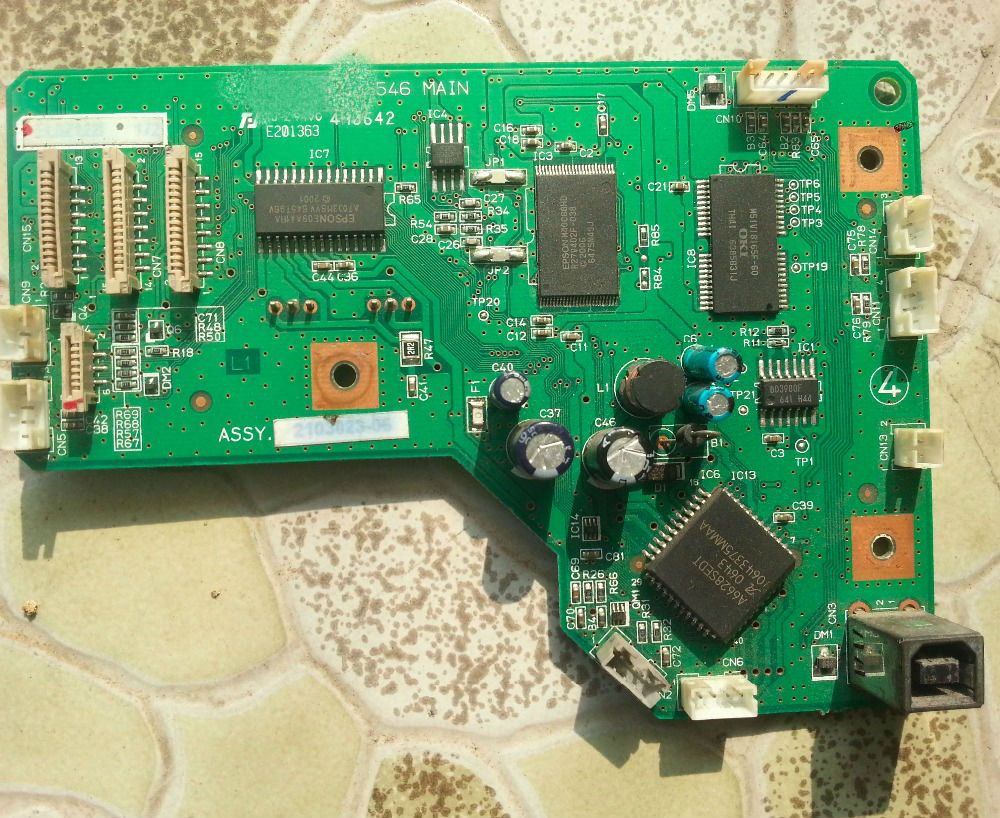Used Main Board For Epson R230 R200 R210 R200 Main Board Motherboard Interface Board Cheapest Printer Motherboard Epson