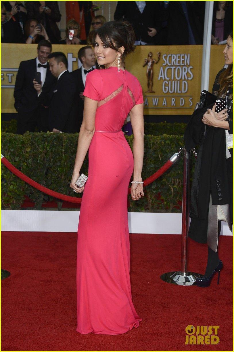 Nina Dobrev SAG Awards 2013 Red Carpet Vestidos de