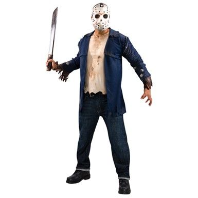 Halloween Costume Jason Friday 13th.Jason Friday 13th Halloween Costume Deluxe Friday The 13th