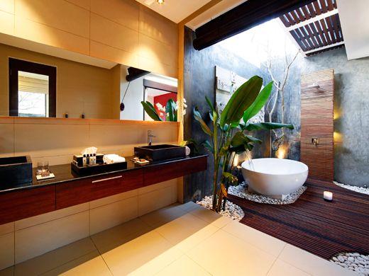 Chandra luxury villas Bali | Balinese bathroom, Elegant ...