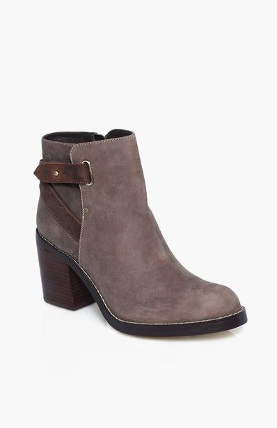 Azaria equestrian-inspired bootie ♡
