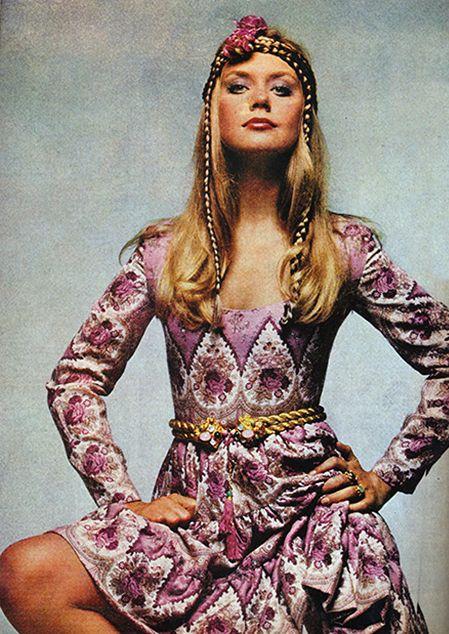 Photo by Chris von Wangenheim. Cosmopolitan 1969