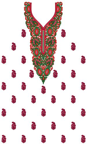 9638 Dress Embroidery Design Border Embroidery Designs Embroidery Designs Wilcom Embroidery