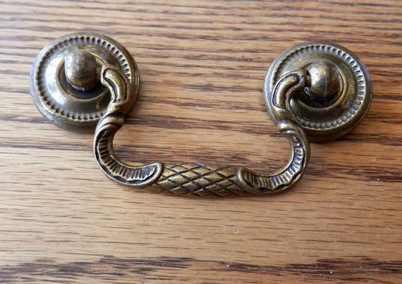 Antique Drawer Pull Bail Handles In 2 1 4 2 1 8 Antique Drawer