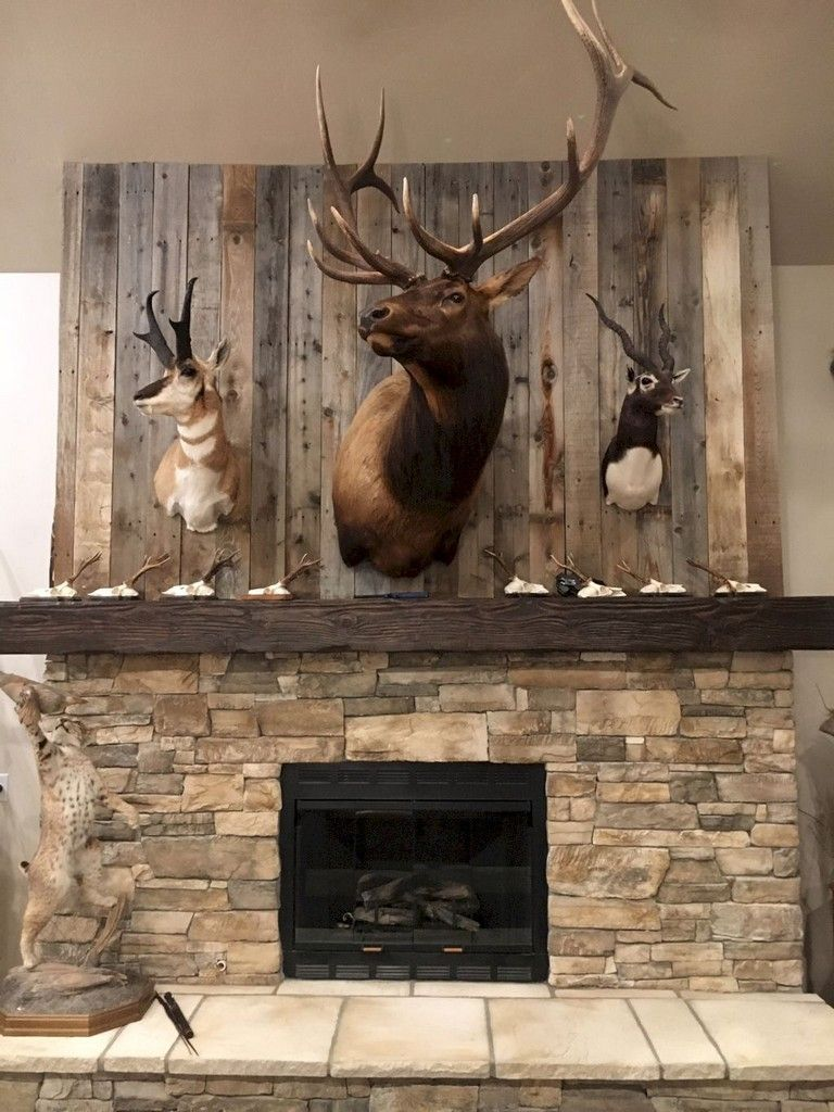 21+ Awesome Rustic Living Room Design Ideas images