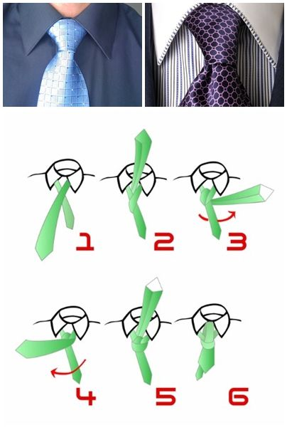 How to tie a tie double windsor knot step by step DIY