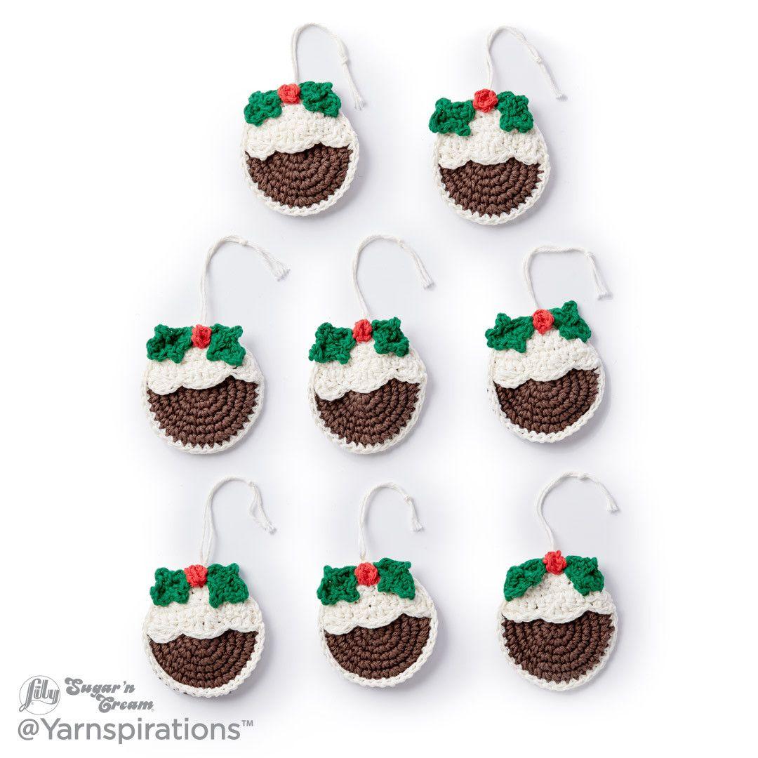 Plum Pudding Crochet Ornaments | Crochet | Pinterest