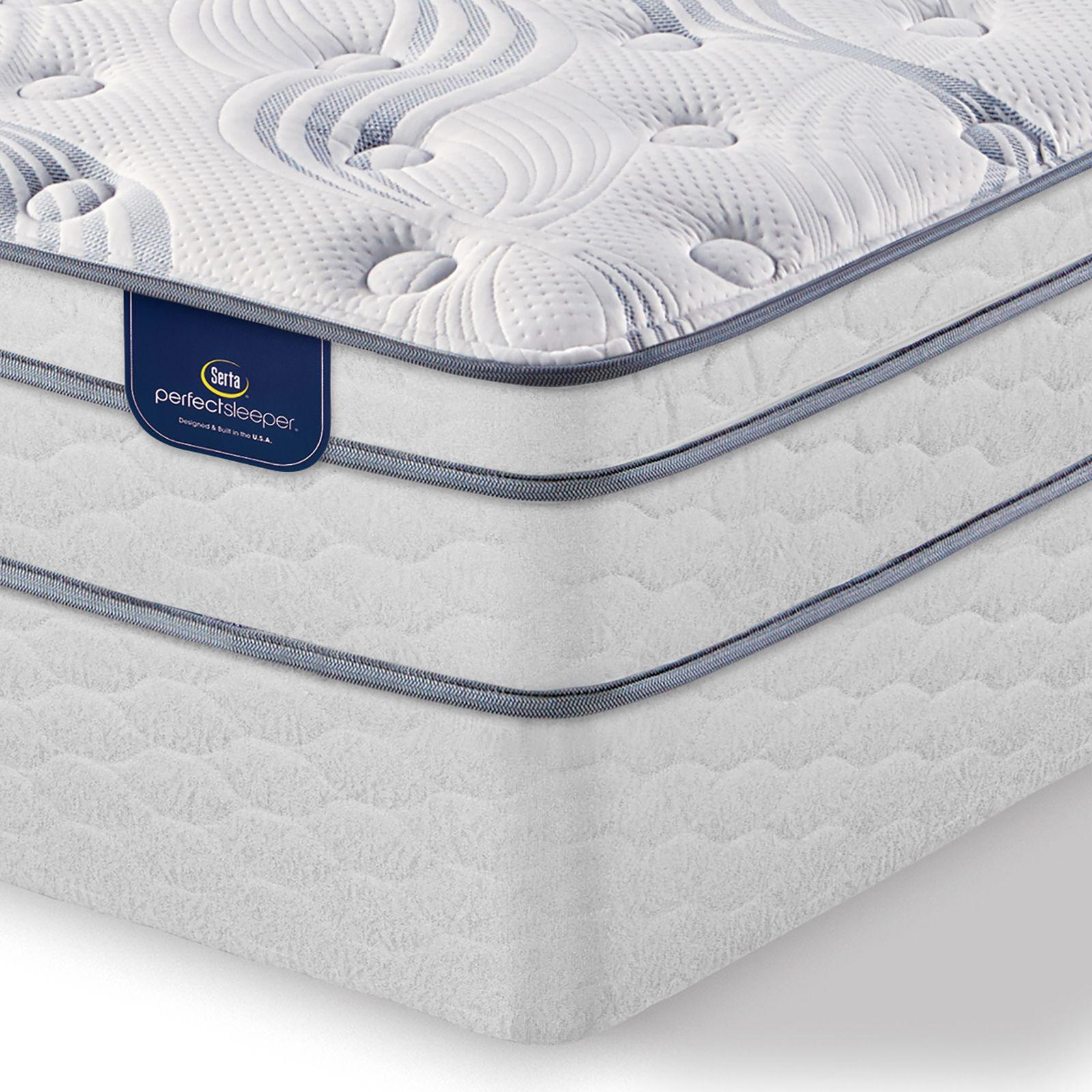 Serta Perfect Sleeper Harlington Plush Twin Eurotop Mattress Off