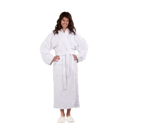 Terry Shawl Unisex Bathrobe -  32.99 This 100% cotton terry bathrobe ... c33834488