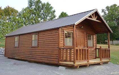 pre built home about 35000 kozy log cabins the hunter my future rh pinterest com pre built cottages canada pre built cottage kits