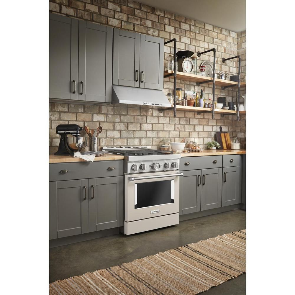 Kitchenaid 30 In Under The Cabinet Commercial Style Range Hood In Stainless Steel Kvuc600jss The Home Depot In 2020 Kitchen Aid Kitchen Inspirations Kitchen Style