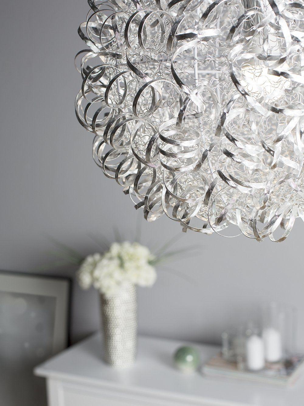 Lampa Wisząca Srebrna Malas W 2019 Salon Pinterest