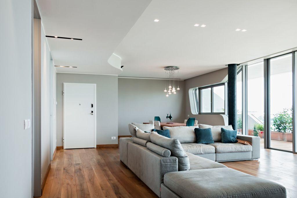 Abitazione privata city life milano hi lite next for Abitazione design