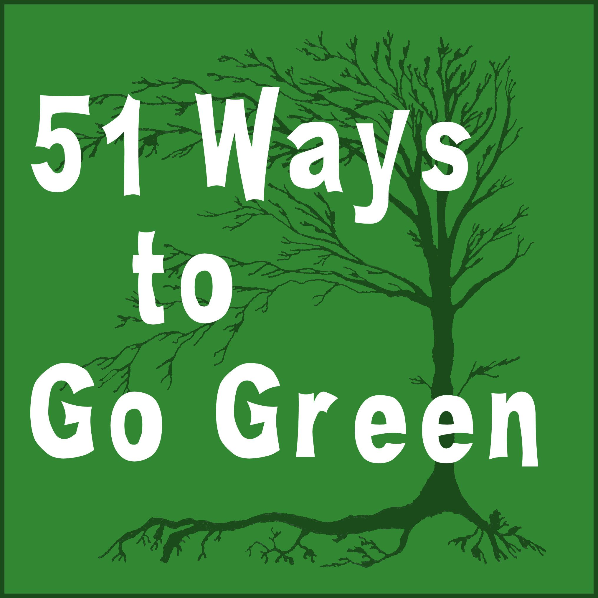 51 Easy Ways To Go Green Go Green Green Eco Friendly Living