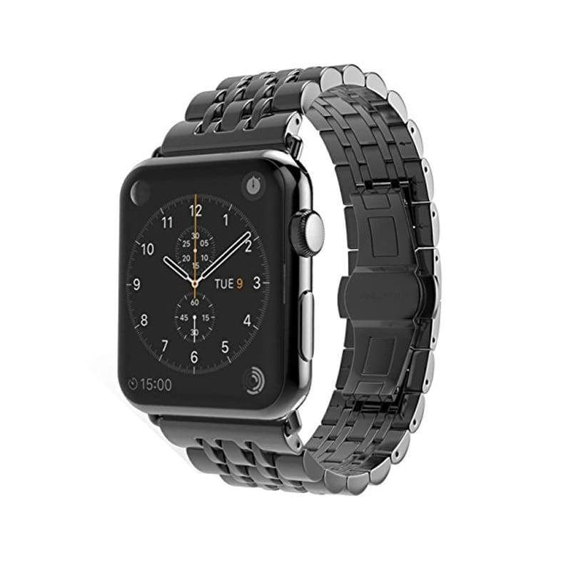 Apple Watch Band Stainless Steel rolex Strap 44mm/ 40mm/ 42mm/ 38mm Links Watchband Smart Watch Metal Bracelet, Series 1 2 3 4 #stainlesssteelrolex