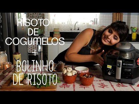 RISOTO de COGUMELOS e BOLINHO de RISOTO | Receita | Torrada Torrada