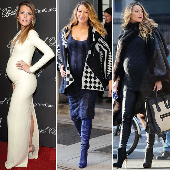 Pregnant Blake Lively Didn't Do Maternity Clothes | Maternitystyle ...