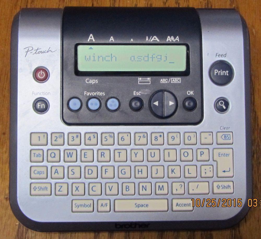 Brother P Touch Pt 1280 Pt1280 Pt 1280 Label Maker Testedworks Has