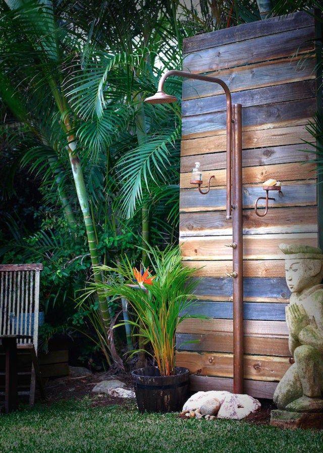 Brooklyn Copper Co Garden Shower Diy Backyard Landscaping