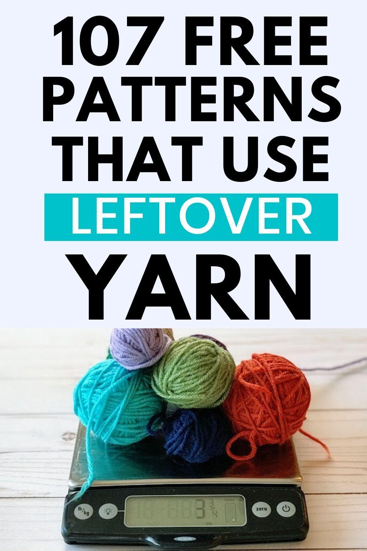107 Free Stash-Buster Crochet Patterns – Use Leftover Yarn! – Handarbeit