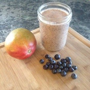 Mango Blueberry Smoothie « Food of the Day