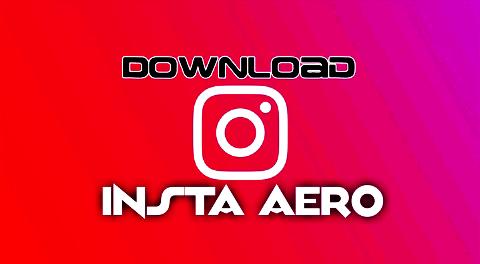 تحميل تطبيق انستا ايرو Insta Aero V9 أفضل نسخة انستجرام احترافية تأتي مع مزايا مدهشة ينتظرها الكثير 2020 Gaming Logos App Insta