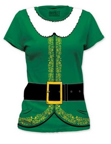 Check out this cute Elf T-Shirt! Perfect for the holidays!